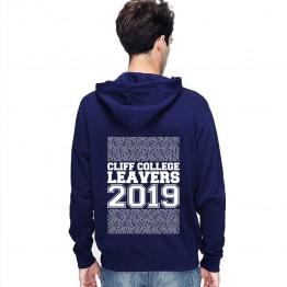 New Leavers Hoodie block column names with middle 2019 text