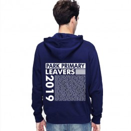 New Leavers Hoodie trendy side block column leavers list