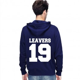New Leavers Hoodie Solid numbers printed on the back