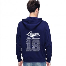 New Leavers Hoodie style Curly design Hoodie with names inside