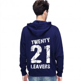 New Leavers Hoodie Shatter effect style printed design