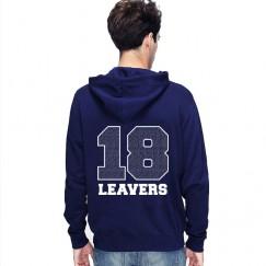 Leavers Hoodie classic 18 design Stars & Stripes Hoodie