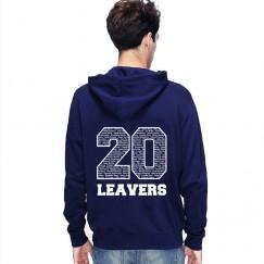 Leavers Hoodie classic 20 design Stars & Stripes Hoodie