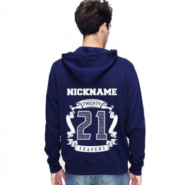 New Leavers Hoodie Circular scroll design with names inside 21