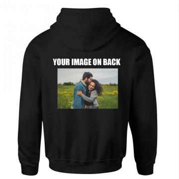 Personalised Back Custom Image On Hoodie