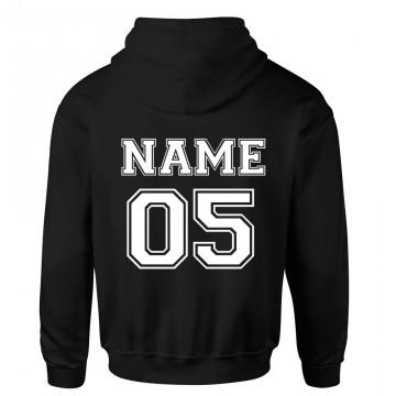 Personalised Back Name And Number College Varsity Football Custom Hoodie