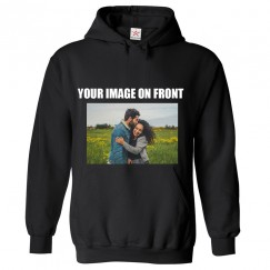 Personalised Front Custom Image On Hoodie