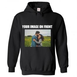 Personalised Front Custom Image On Hoodie