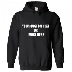 Personalised Front Custom Text OR Image Hoodie