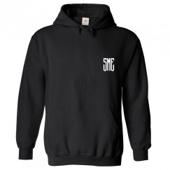 Personalised Front Left Chest Your Custom Initials Hoodie