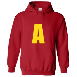 Personalised Inspired From Chipmunks Custom Front Initial Hoodie