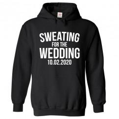 Personalised Sweating For The Wedding Custom Date Hoodie