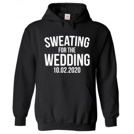 Personalised Sweating For The Wedding Custom Date Hoodie