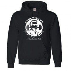 Personalised Hoodie with Funny Quote from Terminator