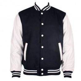 Blank Contrast Varsity SNS jacket