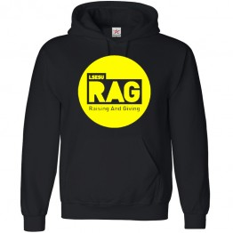 Personalised Raise And Give Hoodie with Custom text on front design