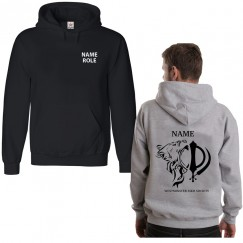 Personalised Sikh University Society Hoodie with custom back/front text
