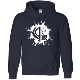Personalised Sikh Society with custom text printed hoodie
