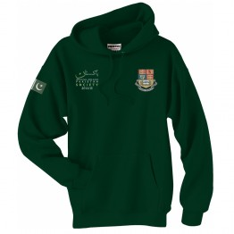 Personalised Pakistan Society Hoodie with custom text and embroidered logo