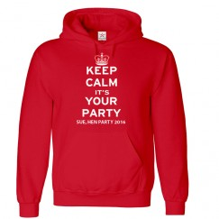 Personalised Stag/Hen with custom text on front Keep Calm