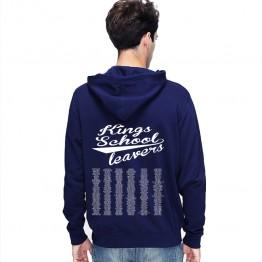 Leavers Hoodie 2018 KING'S SCHOOL design Stars & Stripes Hoodie
