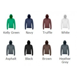 Blank Pullover California fleece pullover hoodie  American Apparel 244 GSM Hoodie