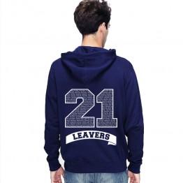 Leavers Hoodie 2021 BANNER design Stars & Stripes Hoodie