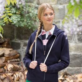Blank Zipper Women's zip through hoodie AWD Just Hoods 330 GSM Hoodie