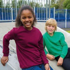 Blank Pullover Kids AWDis sweatshirt Blank AWD 280 GSM Hoodie