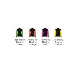Blank Contrast Electric varsity jacket Blank Bella 320 GSM Hoodie