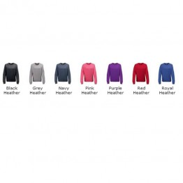 Blank Pullover Girlie heather sweatshirt Blank AWD 320 GSM Hoodie
