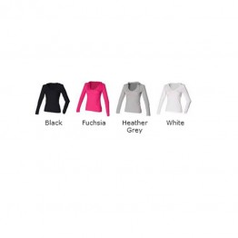 Blank Pullover Women's long sleeve hooded T Blank AWD 140 GSM Hoodie