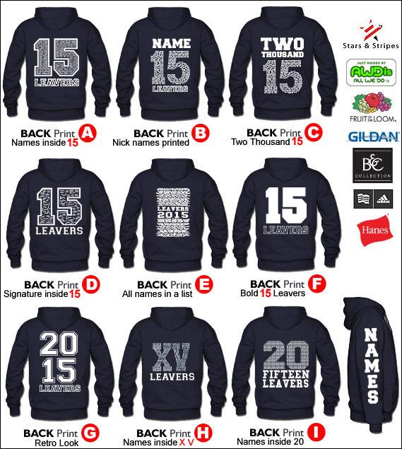 leavers hoodies - Hoodie Design Ideas